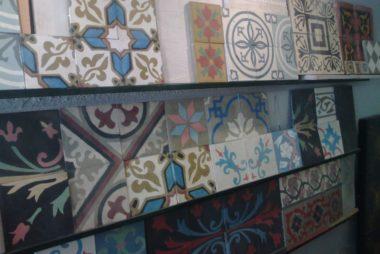 Pisos calcáreos con diseño en Corrientes